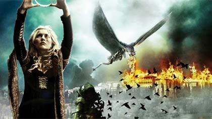 Foto de divulgação do filme A Coroa e o Dragão