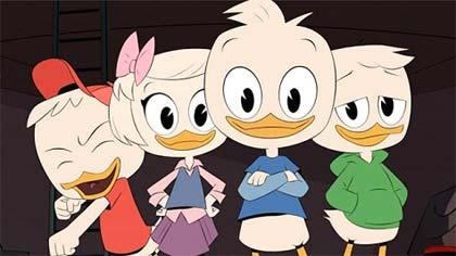 Foto de personagens da série