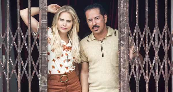 Foto de Francisgleydisson e Marily vividos por Edmilson Filho e Letícia Colin