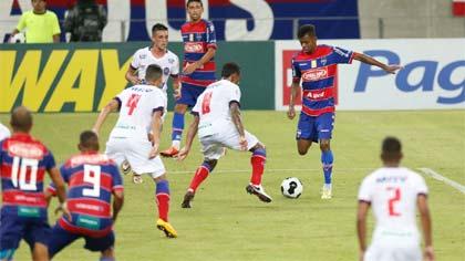 Foto de jogo da Copa do Nordeste