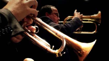 Foto de detalhe da Jazz Sinfônica