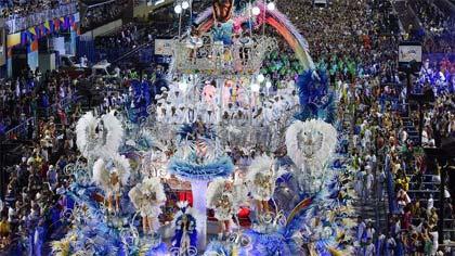Foto de desfile da Beija-Flor
