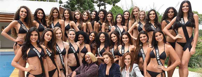 Band transmite o Miss Brasil no sábado, dia 09