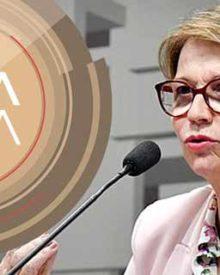 Ministra da Agricultura, Tereza Cristina, no Roda Viva