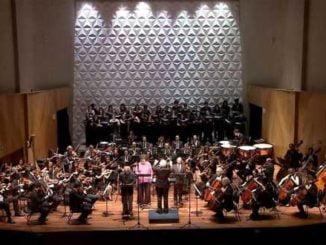 Foto da Orquestra Sinfônica da UFRJ