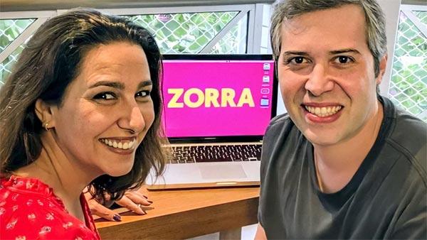 Foto de Renata e Leo Castro