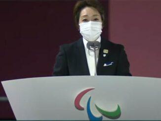 Foto do discurso de abertura dos Jogos Paralímpicos