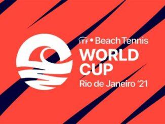 Foto da marca do Copa do Mundo de Beach Tennis
